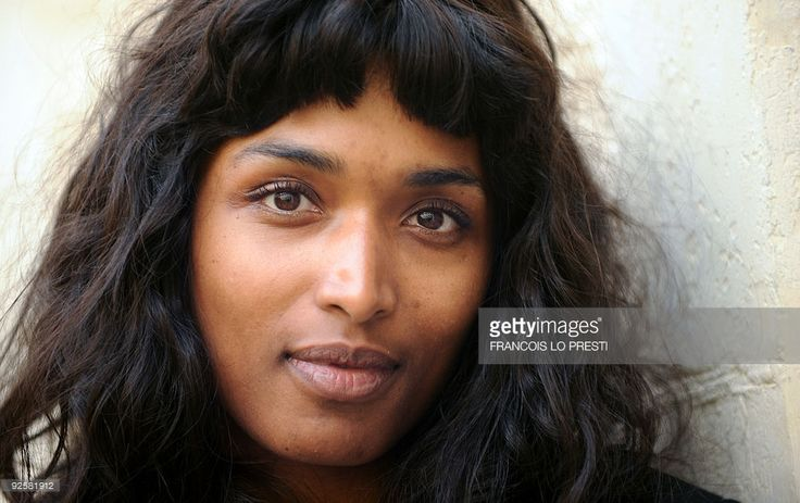 French actress Sara Martins poses on October 27, 2009 at the Gantois Hotel in…