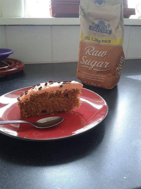 Carrot Cake with Orange Choc Chip Buttercream! - nzgirl