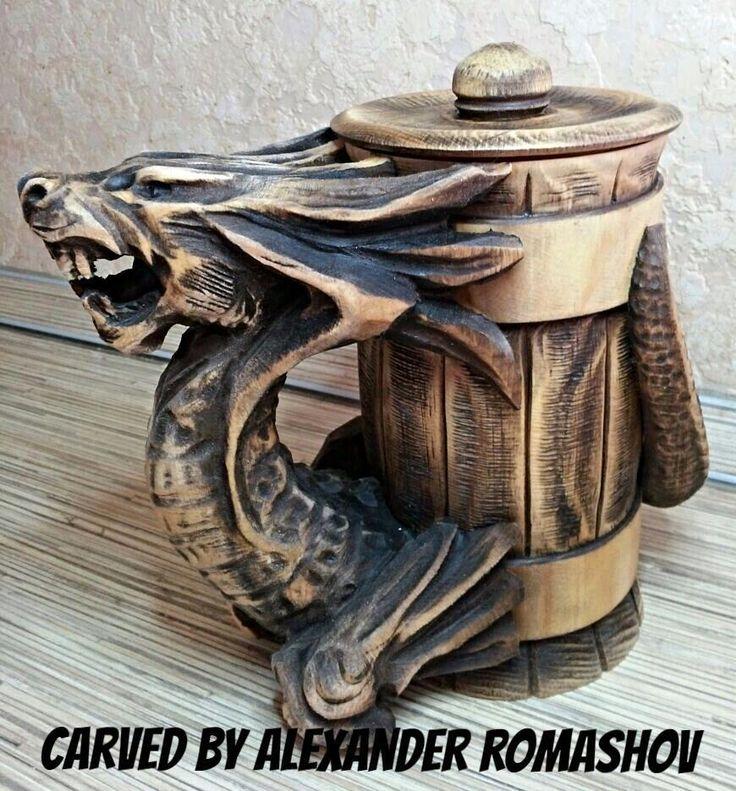 dragon beer mug Другие необычные кружки для пива смотри по ссылке http://blogosum.com/posts/promo-posuda