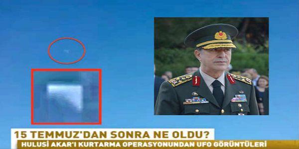 Καταγράφηκε UFO κοντά σε στρατιωτικό ελικόπτερο που μετέφερε Τούρκο στρατηγό | Βίντεο