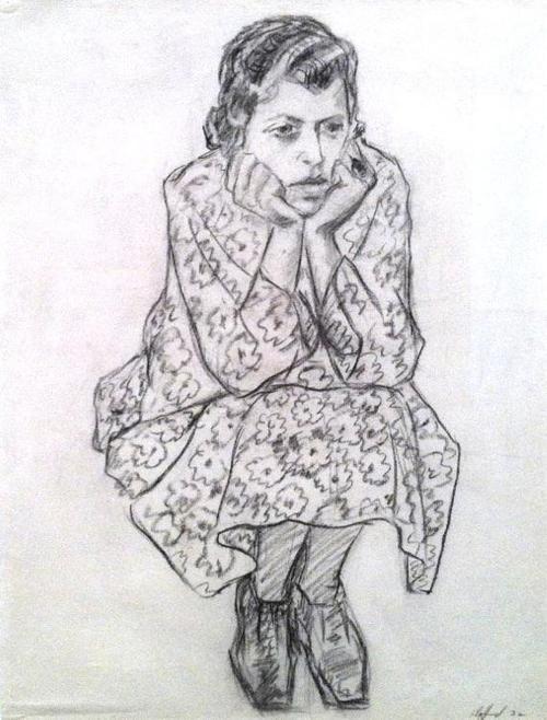 Clyfford Still, Portrait of a Girl.  Art Experience NYC  www.artexperiencenyc.com/social_login/?utm_source=pinterest_medium=pins_content=pinterest_pins_campaign=pinterest_initial