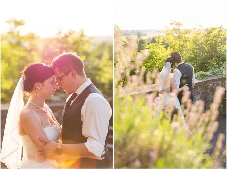 Hochzeit in der Schlossscheune Homburg - Lavendel <3 Liebe