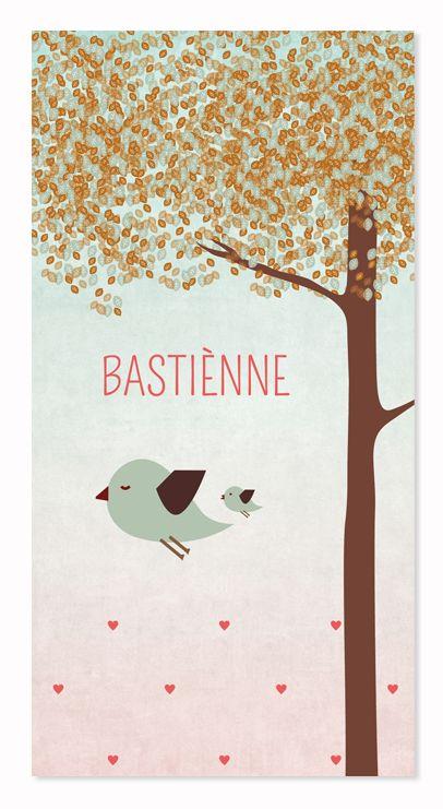 Geboortekaartje Bastienne #geboortekaartje #geboorte #zwanger #birthcard…