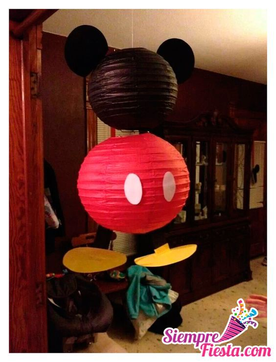 Fiesta infantil de Mickey Mouse http://tutusparafiestas.com/fiesta-infantil-mickey-mouse/