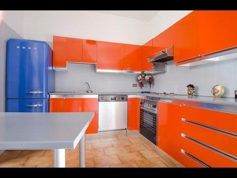 Mobili della cucina laccati o in laminato, formica - YouTube