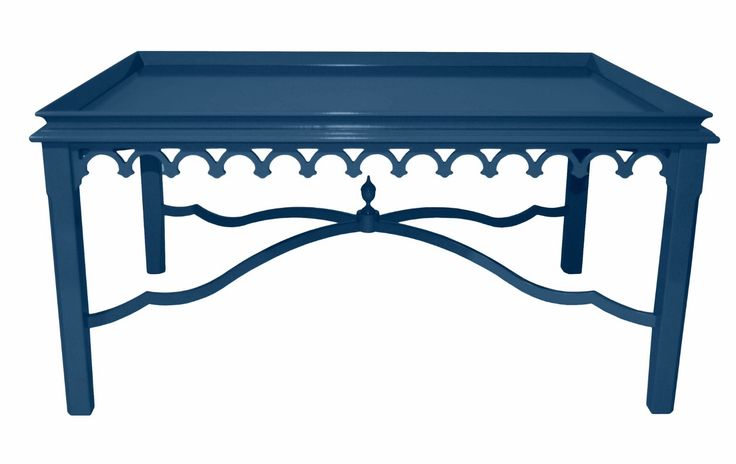 Newport Coffee Table In New York Blue From Oomph New York Blue Almost A Denim Blue But With