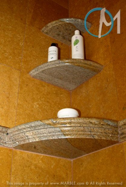 10 Best Stone Shower Shelves And Benches Images On