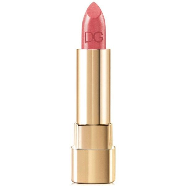 Dolce & Gabbana Shine Lipstick found on Polyvore featuring beauty products, makeup, lip makeup, lipstick, sheer, lip gloss lipstick, shiny lipstick, shimmer lipstick, dolce&gabbana and lips makeup