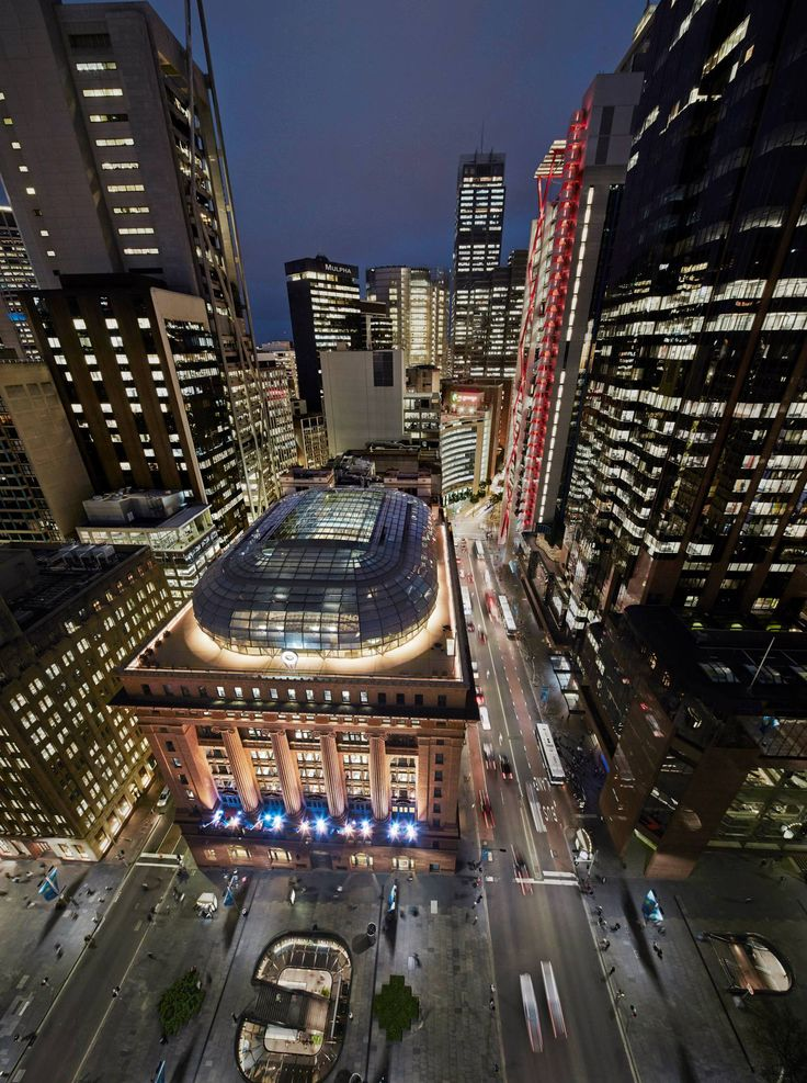 Commercial Architecture - Sir Arthur G. Stephenson Award 50 Martin Place by JPW / COLORBOND® Award for Steel Architecture Sustainable Architecture - Commendation / Photography: Peter Bennetts