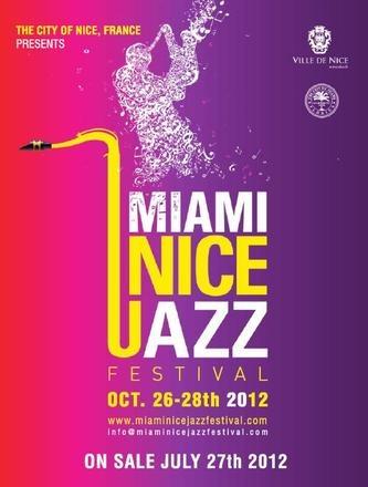 affiche 1ère édition du Miami Nice #jazz festival (Etats-Unis) 2012