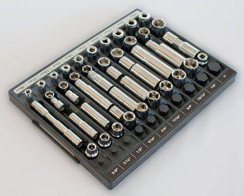 17 best ideas about socket organizer on pinterest tool for Socket organizer ideas