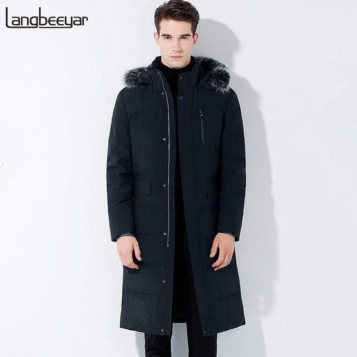New Fashion Brand Clothing Men Down Jacket Men Winter Business Mens Winter Parka