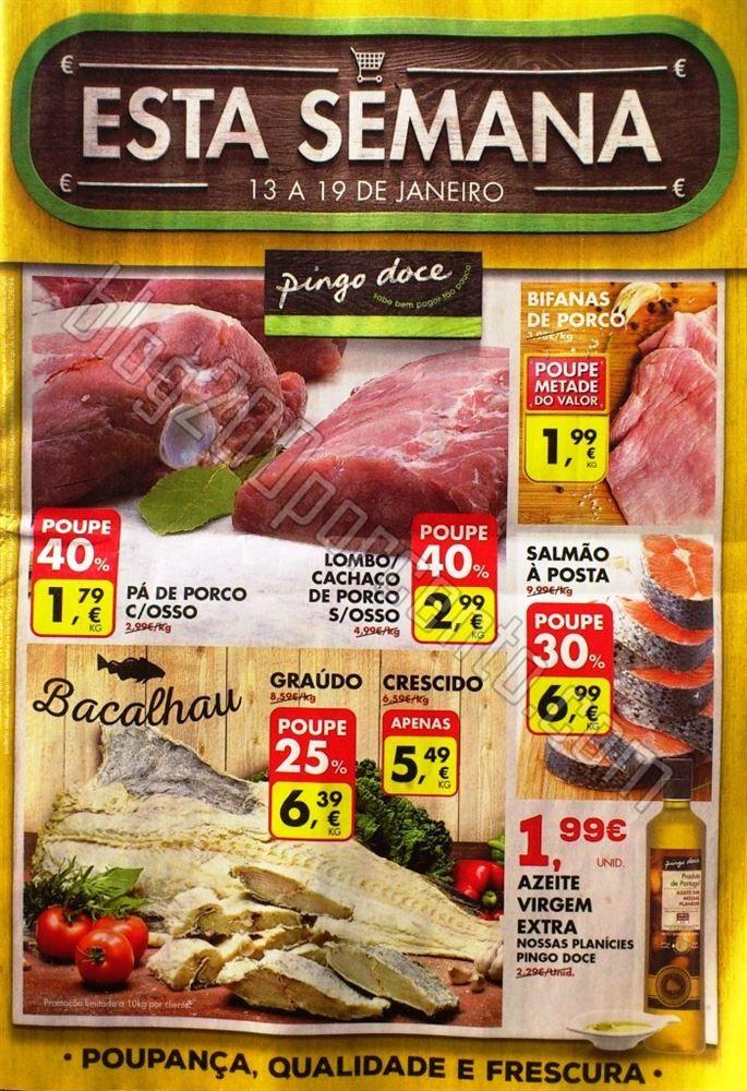Antevisão Promoções Folheto Pingo Doce + Especial Bebé - de 13 a 19 de Janeiro