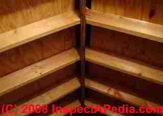 How to Inspect Ridge Vents from the Attic  Ridge vent viewed from attic