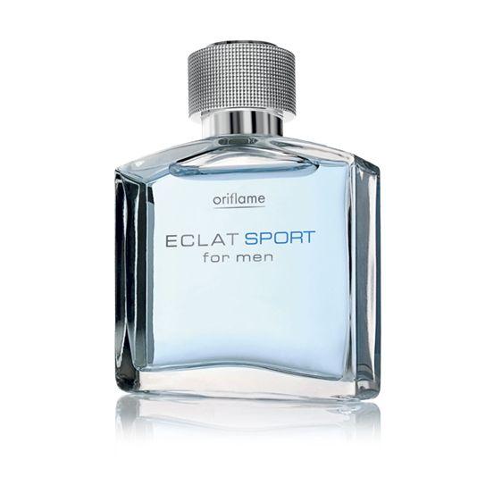 Sporttiselle miehelle!  Eclat Sport for Men Eau de Toilette  Konstailematonta ja rentoa eleganssia urheilulliselle miehelle. Tasapainoisen tuoksun puumaiset, mausteiset ja vesimäiset tuoksuelementit vetoavat elämästään nauttivaan mieheen.