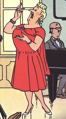 Bianca Castafiore • the Signora • the Milanese Nightingale • the Castafiore Emerald • Tintin, Herge j'aime