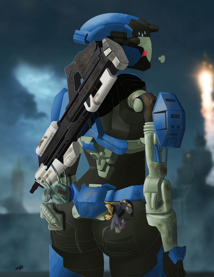 Kat - Halo Reach | Anime warrior, Halo reach, Halo armor