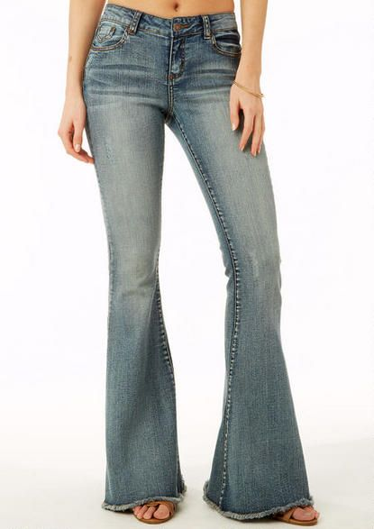 1000  images about Jeans on Pinterest | Bell bottoms Stretch