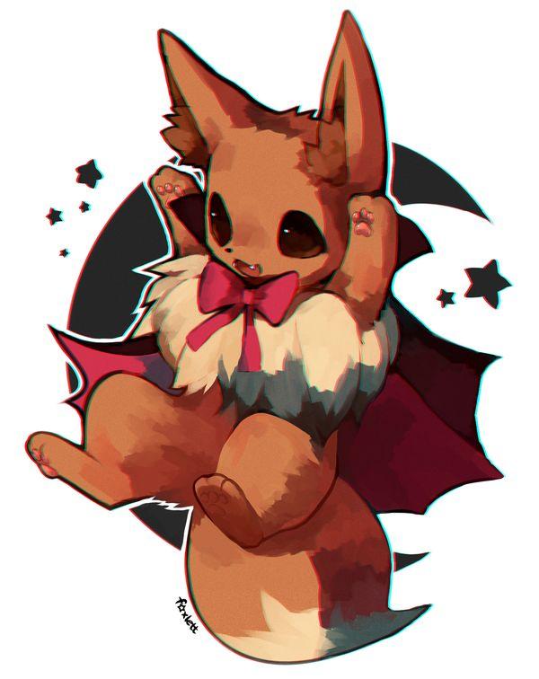 Eevee By Foxlett Deviantart Com On Deviantart 3 Pokemons ♡ Pinterest Deviantart Pok 233 Mon
