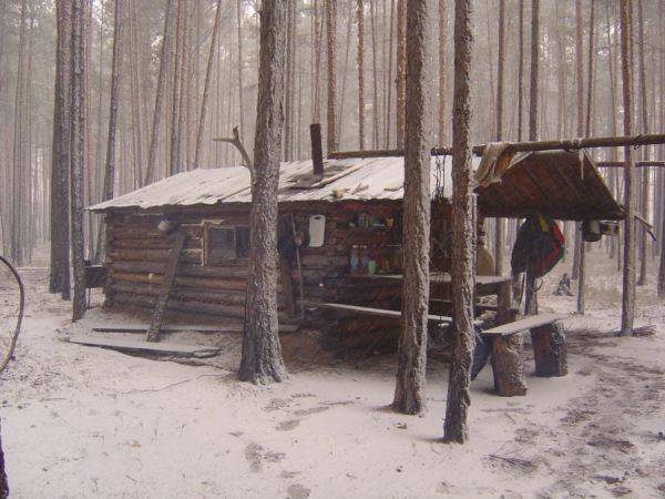 Trappers cabin. There are a lot of days I wish I had one of these, without any connection to the universe at all.