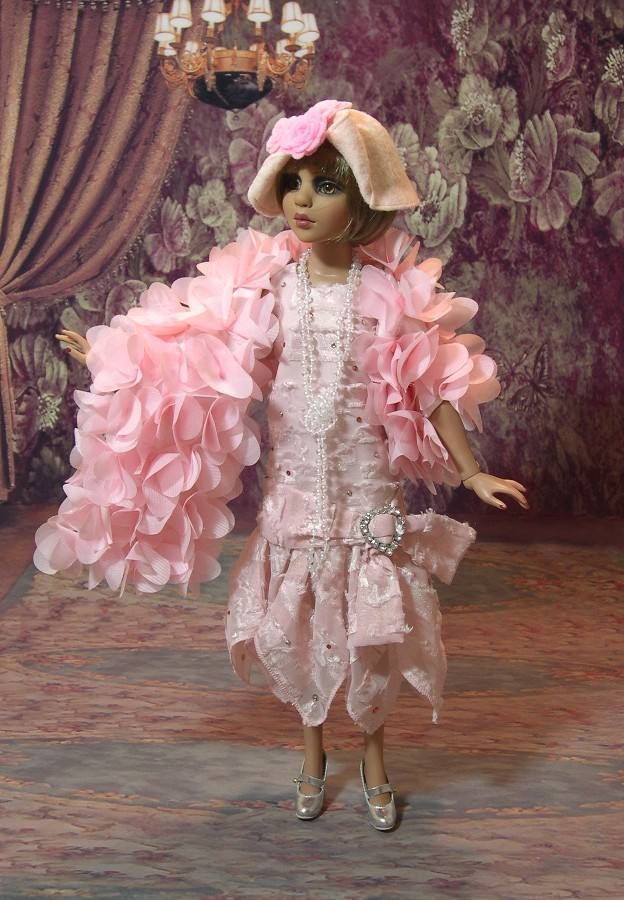"""Where's The Party "" OOAK 1920's Outfit for Ellowyne Bees Knees 