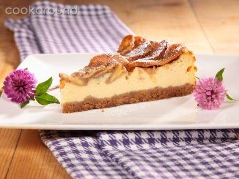 Cheesecake alle mele croccanti: Ricette Dolci | Cookaround