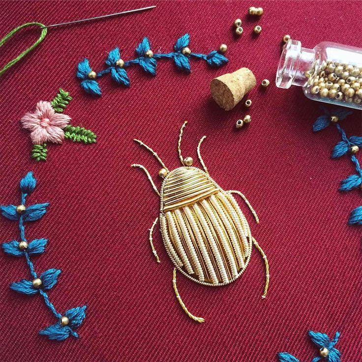 Les Insectes brodés de Humayrah Bint Altaf  (6)