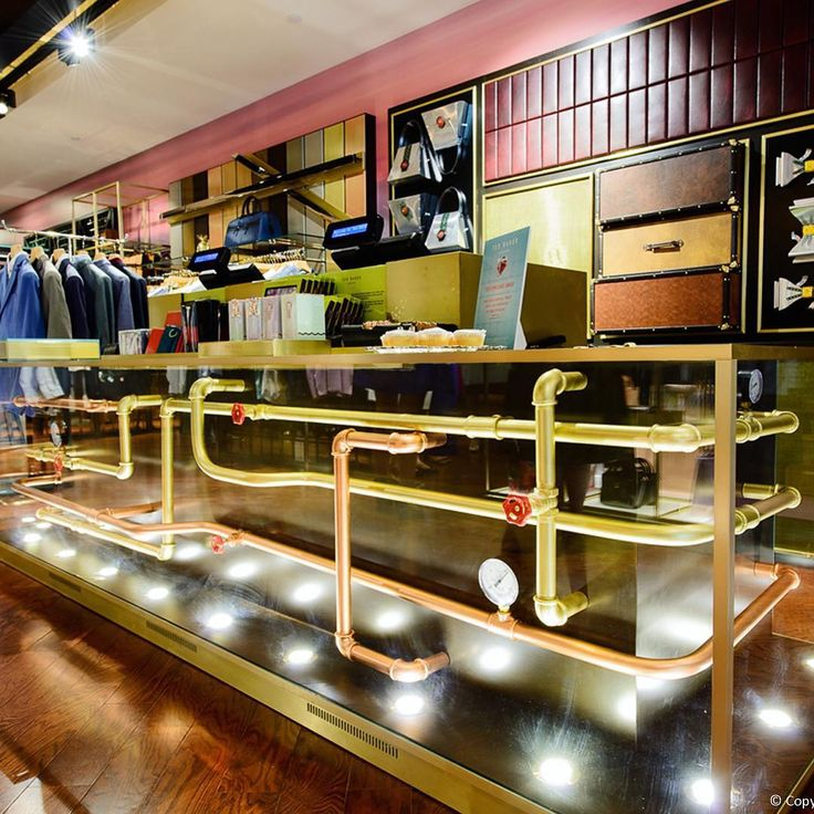 "TED BAKER, Ottowa Store, Canada, ""Under Pressure"",  creative by FormRoom in collab with Ted Baker, pinned by Ton van der Veer"