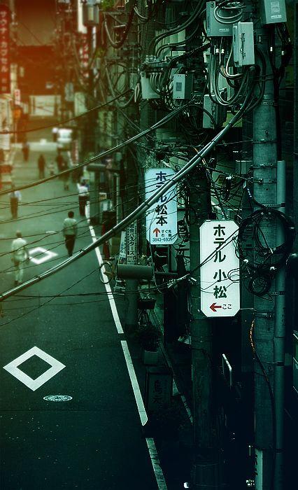 Tokyo Tangle by ~denkyo on deviantART