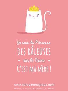 Telle mère, telle fille ! #citation #berceaumagique #princesse #raleuse #tellemeretellefille #mamanjetaime