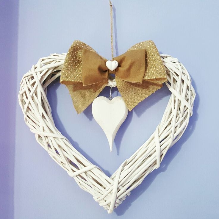 Bow rustic chic