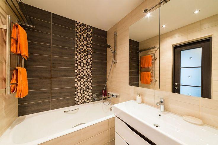 Kis fürdőszoba ötletek - 8 különböző berendezés burkolat színek hangulat 4 fürdőkáddal 4 zuhanyfülkével szerelve
