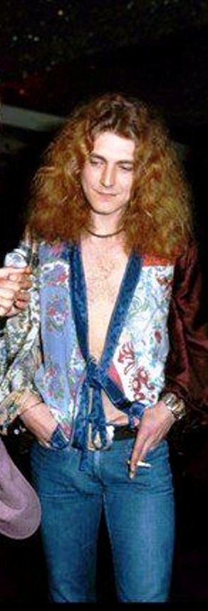 Robert Plant, c. 1973.