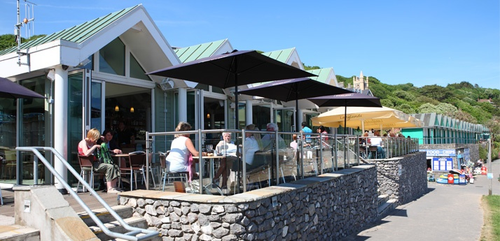 Langlands brasserie is a top notch restaurant by the sea at Langland Bay, Mumbles, South Wales