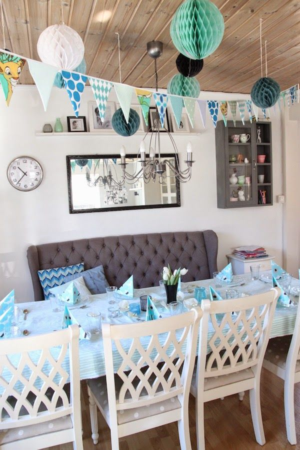 Party Decoration with Sostrene Grene