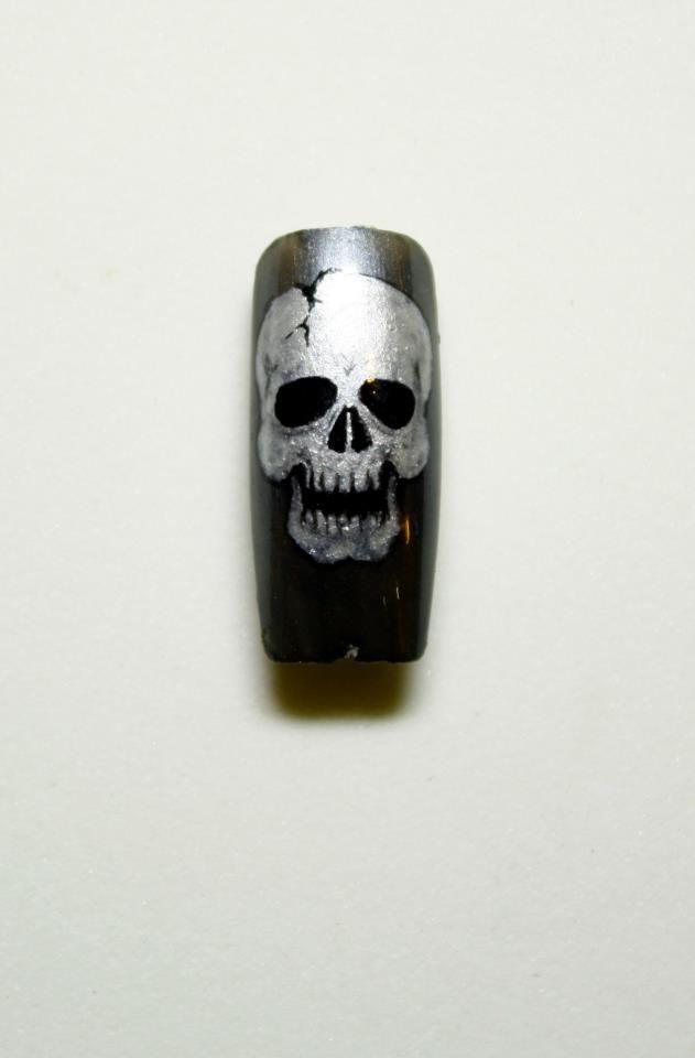 Nail Art by Pisut Masanong halloween #nail #nails #nailart