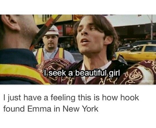 This is probably how Hook found Emma in New York #CaptainSwan #OnceUponATime