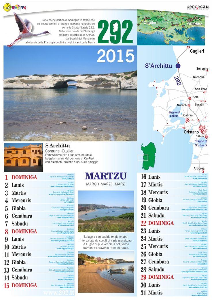Marzo del Calendario 2015 Sardo è scaricabile GRATIS. http://www.ecau.it/2015/marzo/ Si cercano Aziende che vogliono comparire su Aprile...