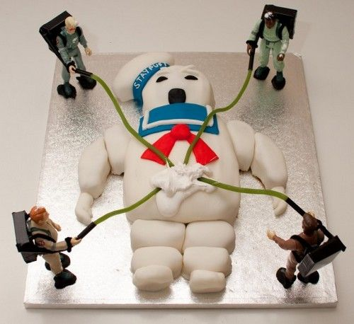 #Ghostbusters #cake. Read more about the Ghostbusters at #comiXology.   #Comics #ComicBook #Read