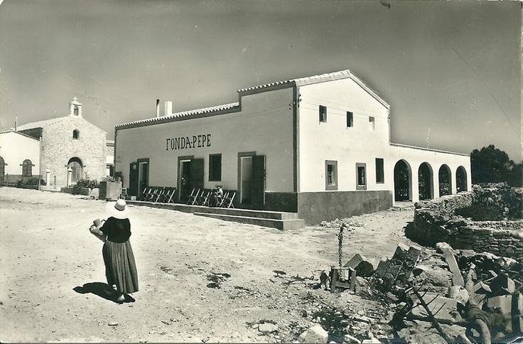 Fonda Pepe in Formentera island