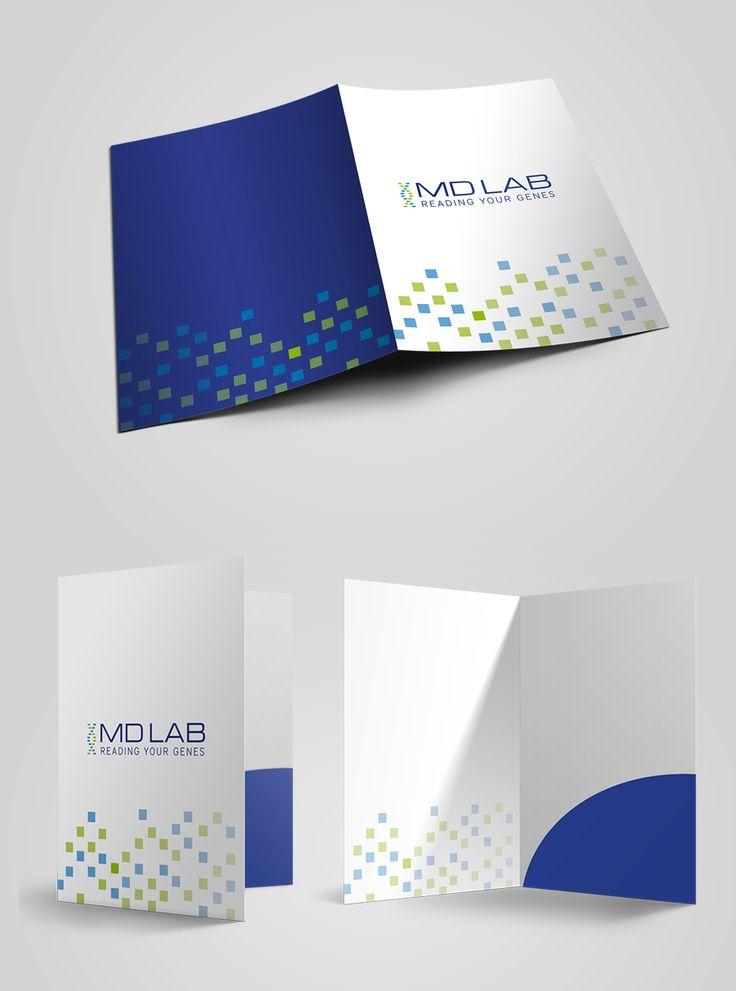Branding MD lab company