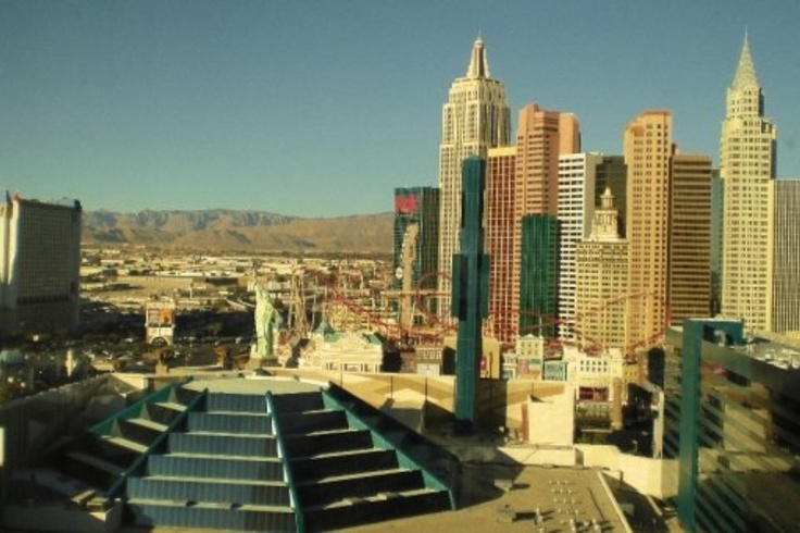 Waking up to an exciting view every morning. #Vegas #potentialistCanada