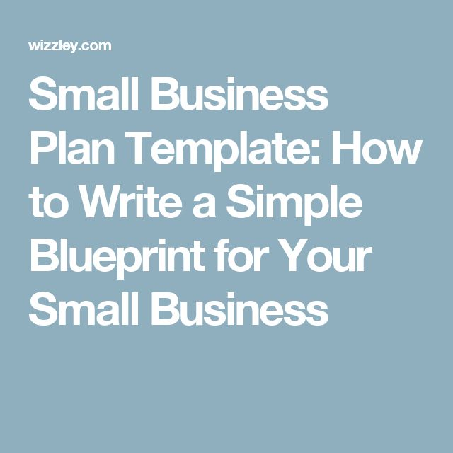 25 best ideas about small business plan template on pinterest