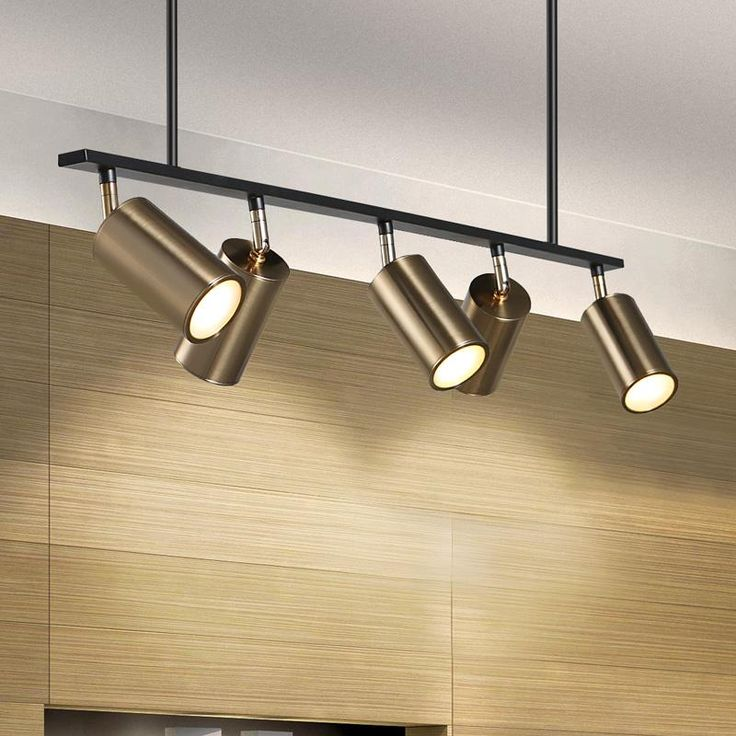 Modern Brass Hanging Track Lights Modern Track Lighting Kitchen Ceiling Lights High Ceiling