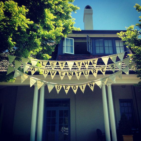 Bunting  Personalised by MooEventDesign on Etsy