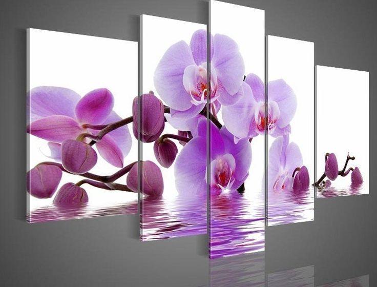 cuadros de flores moradas - Buscar con Google