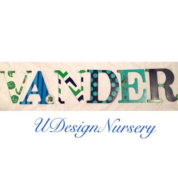 Best Udesignnursery  Custom Wooden Nursery Letters Images On