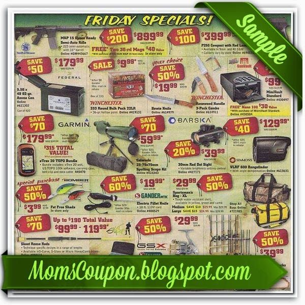 printable Gander Mountain coupons 20% coupon code February 2015