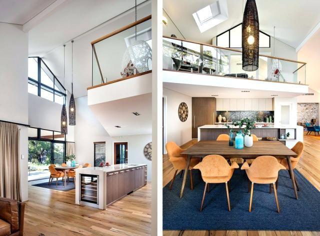 Die besten 25+ hohe Deckenbeleuchtung Ideen auf Pinterest Hohen - wohnzimmer offene decke
