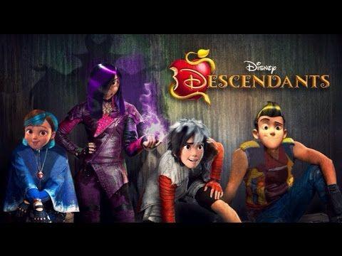 "Descendants Cast - Rotten to the Core (From ""Descendants"") - YouTube"